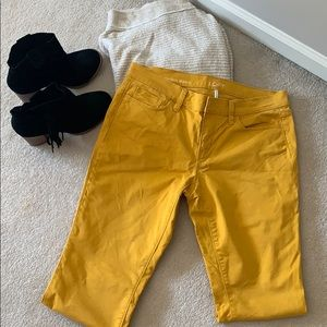 Loft Modern skinny pants